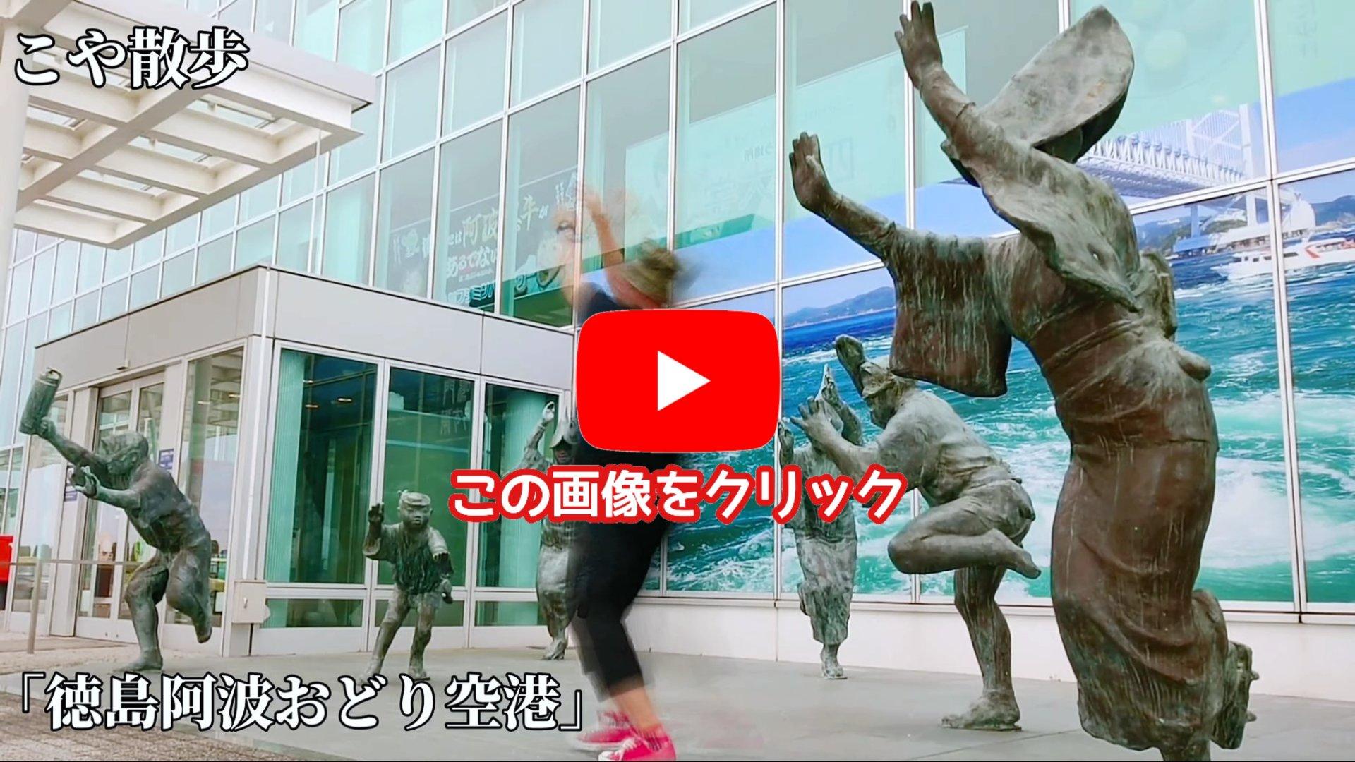 【阿波踊り空港】徳島県唯一の空港
